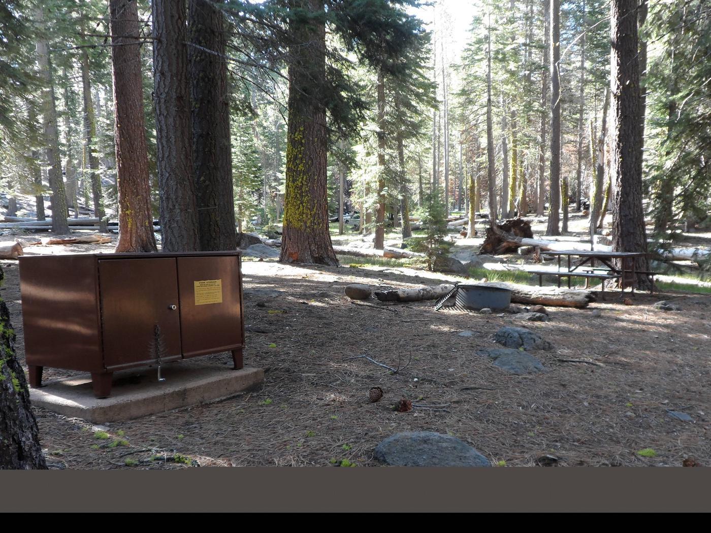 D18Manzanita Lake Campground, Loop D, Site D18