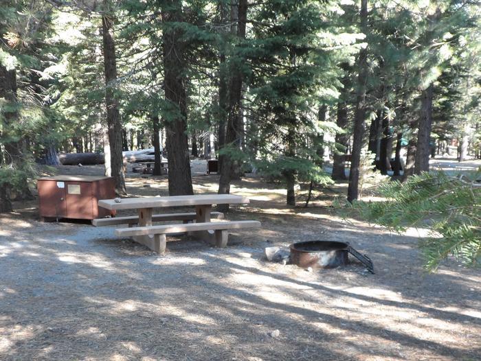 B2Manzanita Lake Campground, Loop B, Site B2
