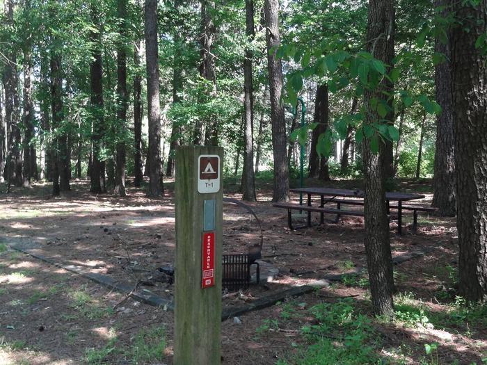 South Sandusky Campground Site T-01