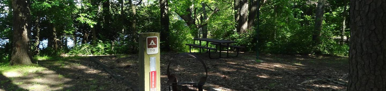 South Sandusky Campground Site T-03