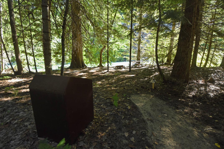 Campsite at Harlequin CampgroundCampsite 1 at Harlequin Campground