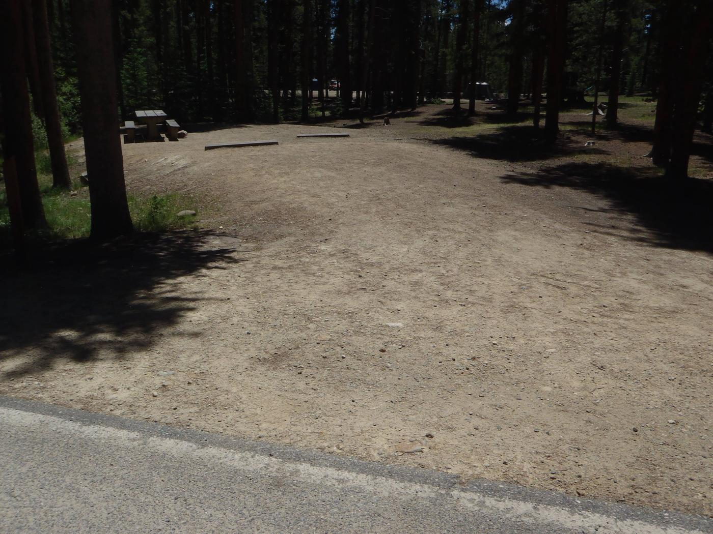 Molly Brown Campground, site 48 parking 5