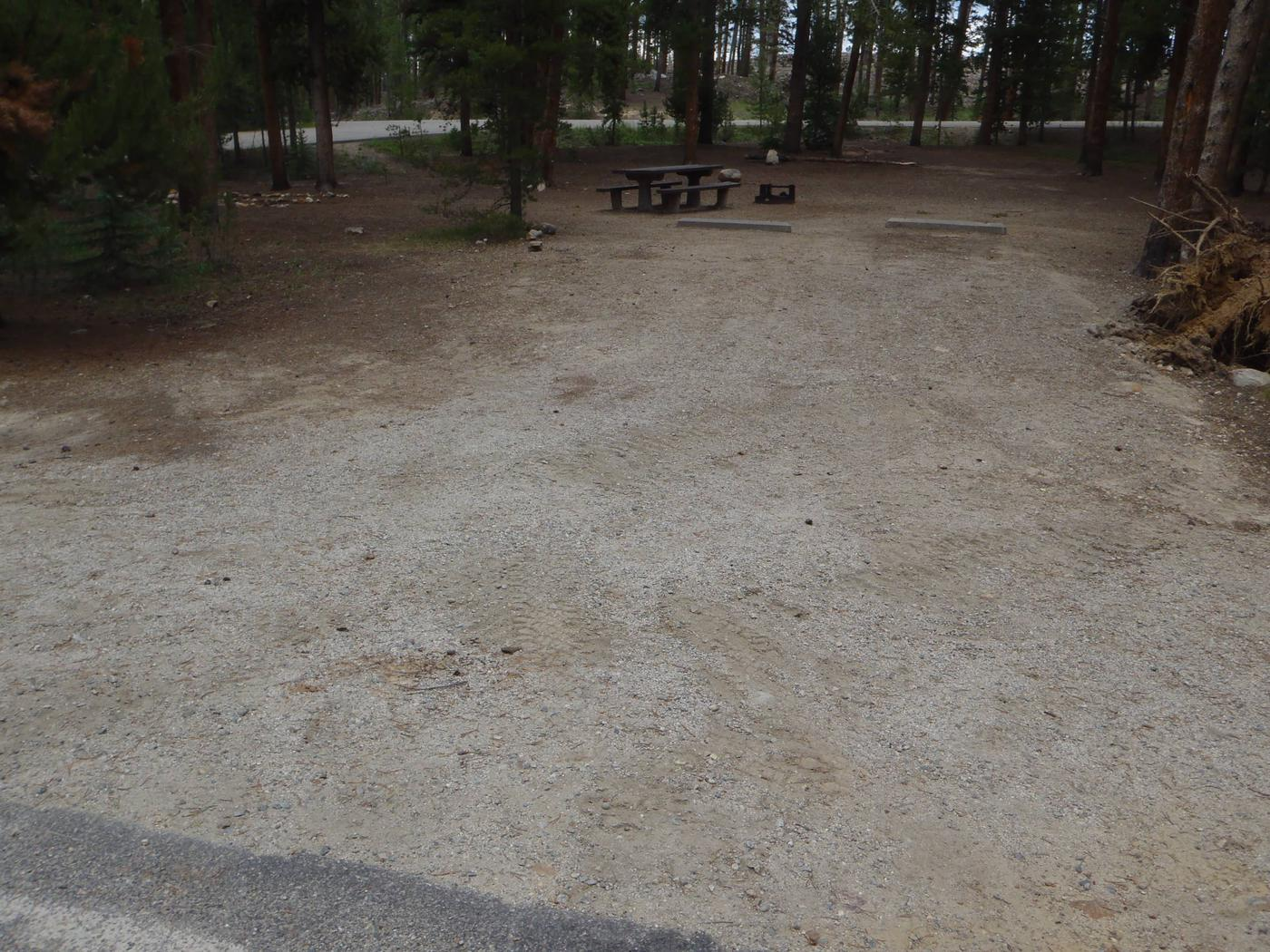 Molly Brown Campground, site 49 parking 3