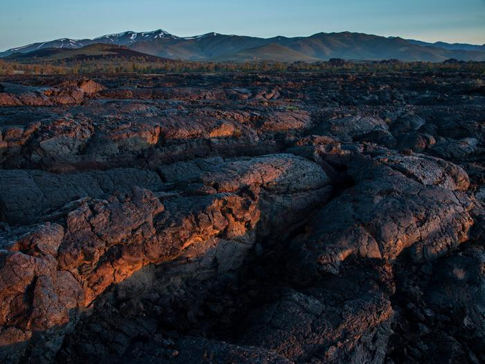 A Sea of LavaCraters of the Moon features the largest young lava field in the lower 48 states, encompassing the entire Great Rift volcanic zone.