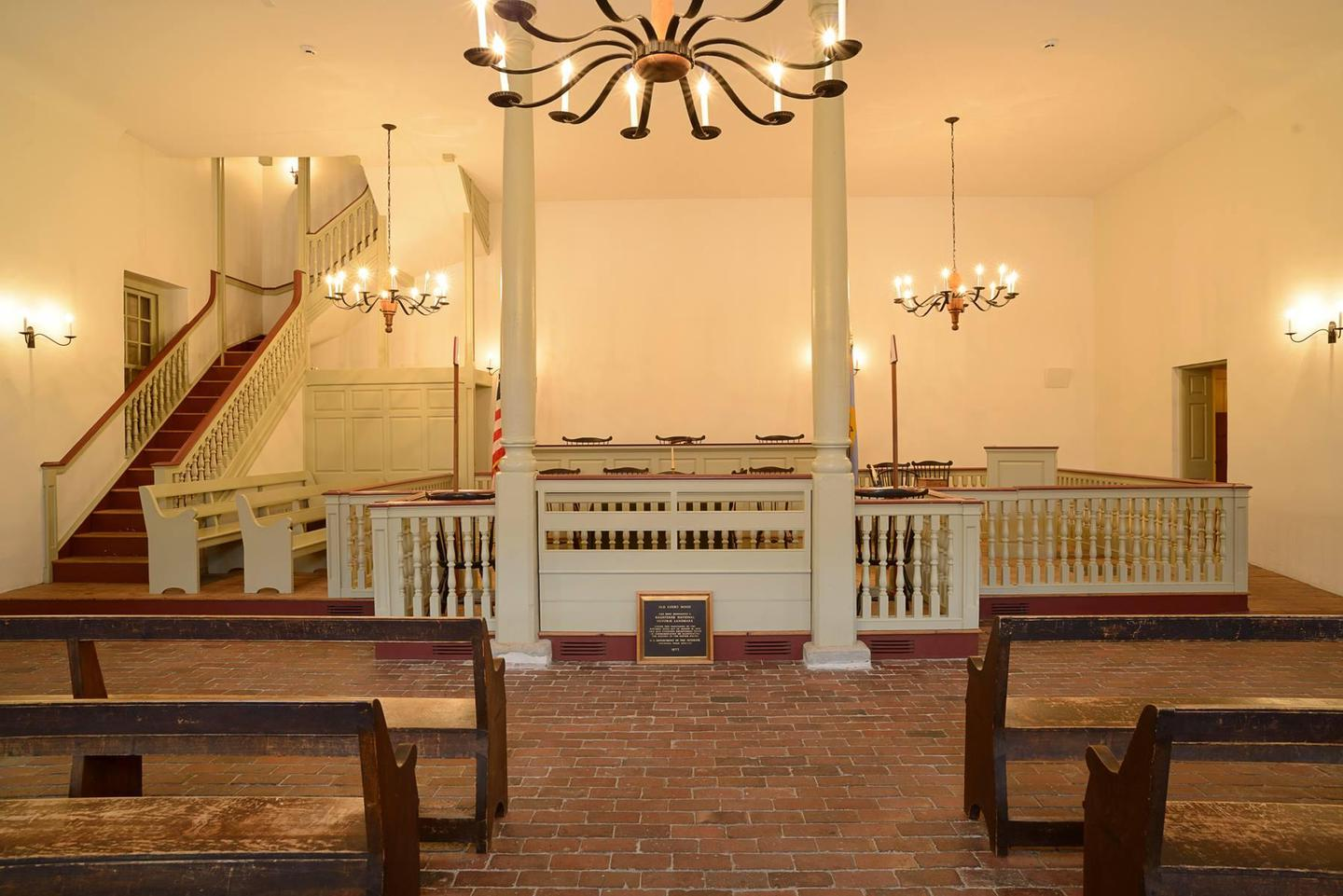 New Castle Court HouseThe New Castle Court House Museum was the first court of Delaware and has seen a variety of significant moments in history.