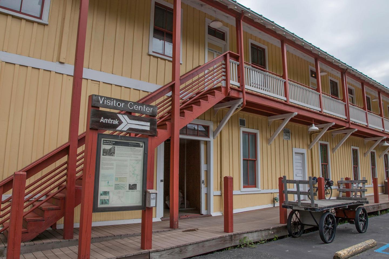 Thurmond DepotThe renovated Thurmond Depot now stands as an NPS visitor center