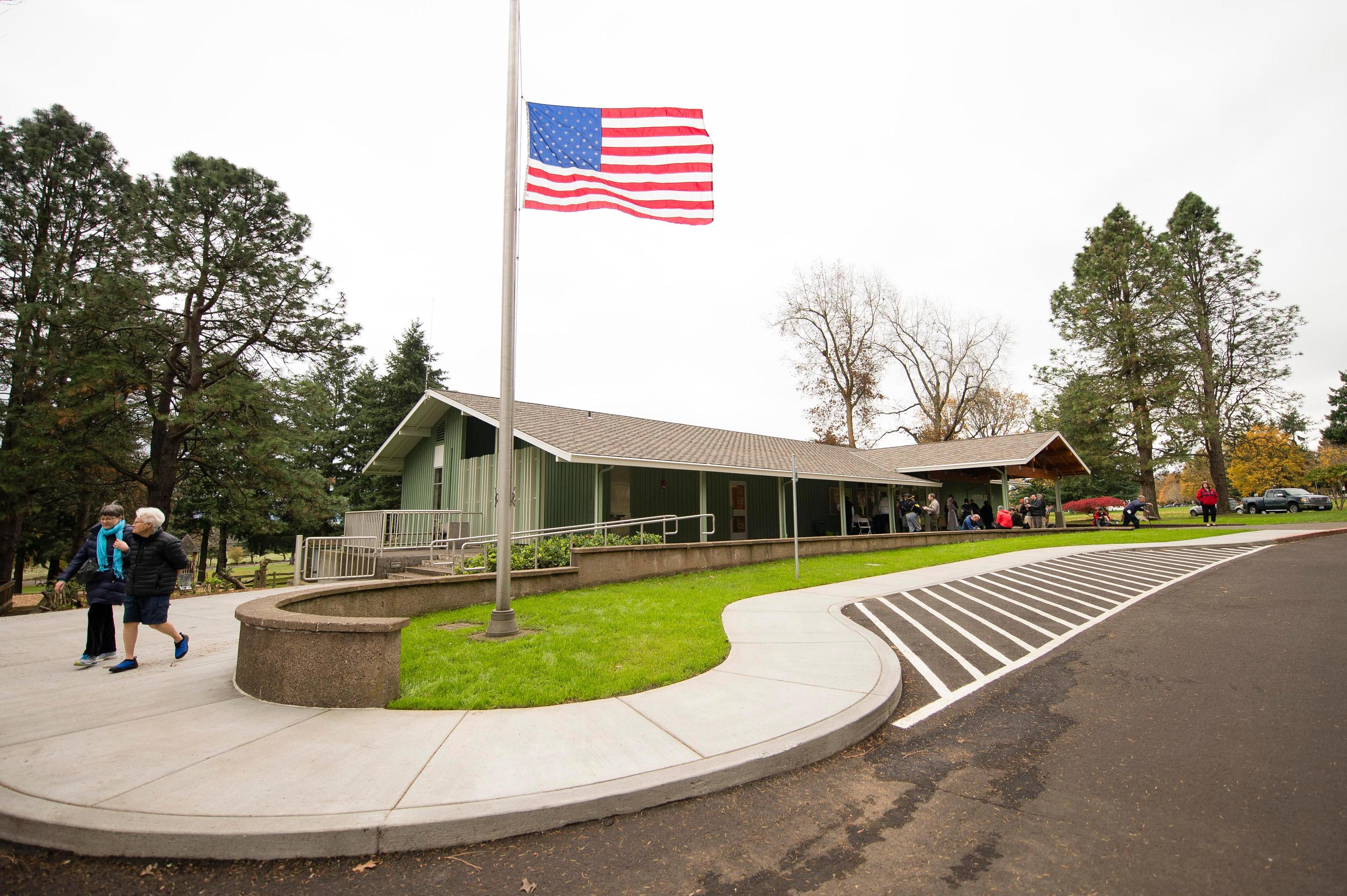 The Fort Vancouver Visitor CenterThe Visitor Center is a good place to start a visit to Fort Vancouver National Historic Site.