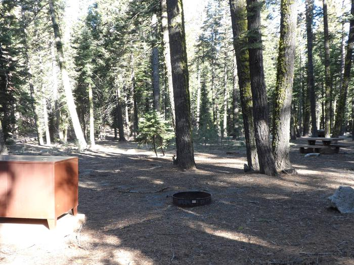 B14Manzanita Lake Campground, Site B14