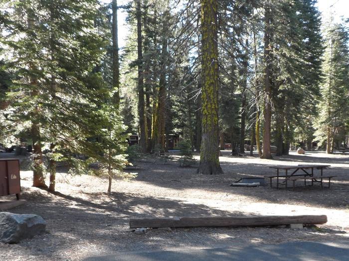 B21Manzanita Lake Campground, Site B21
