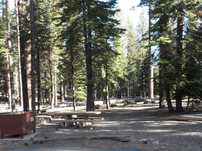 B22Manzanita Lake Campground, Site B22
