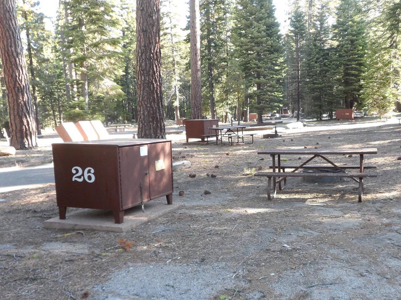 B26Manzanita Lake Campground, Site B26