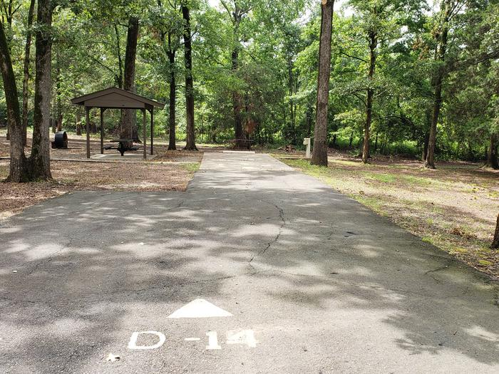 100 yards to Shower/Restroom. 400 yards to Lake Merrisach Access.D-14