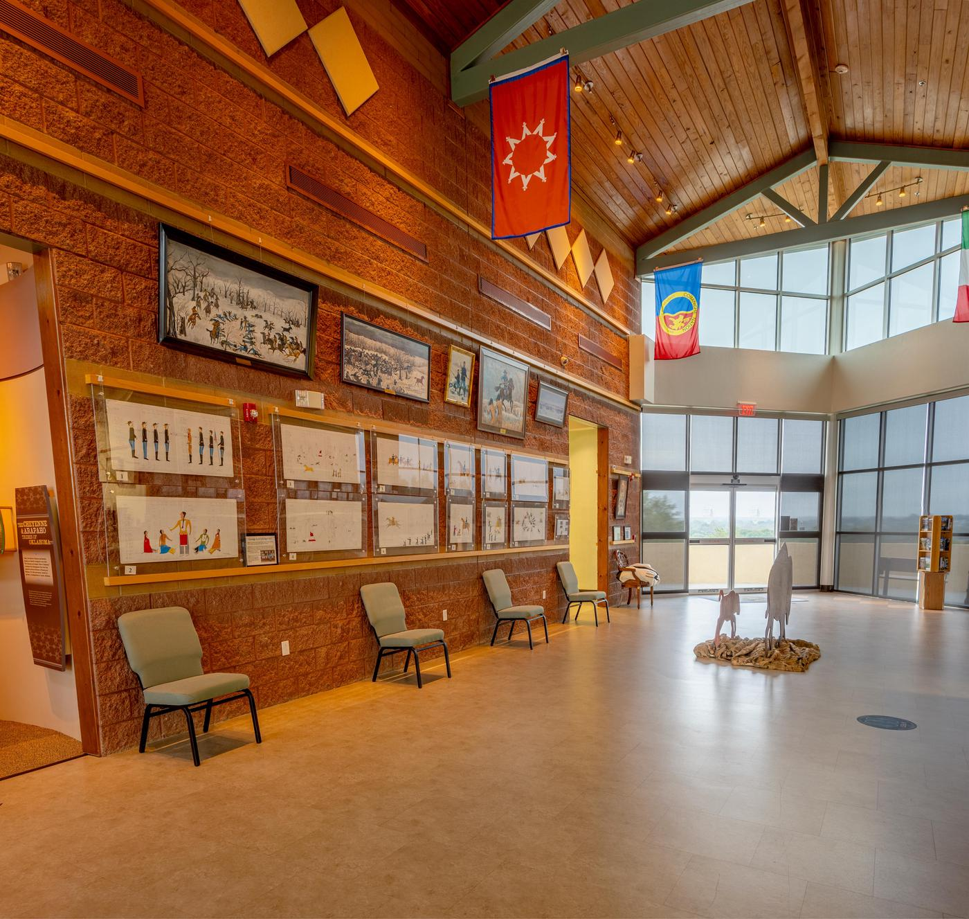 Gallery from Bookstore EndWashita Battlefield Visitor Center