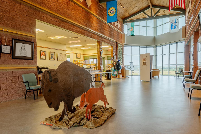Gallery from Front DoorWashita Battlefield Visitor Center