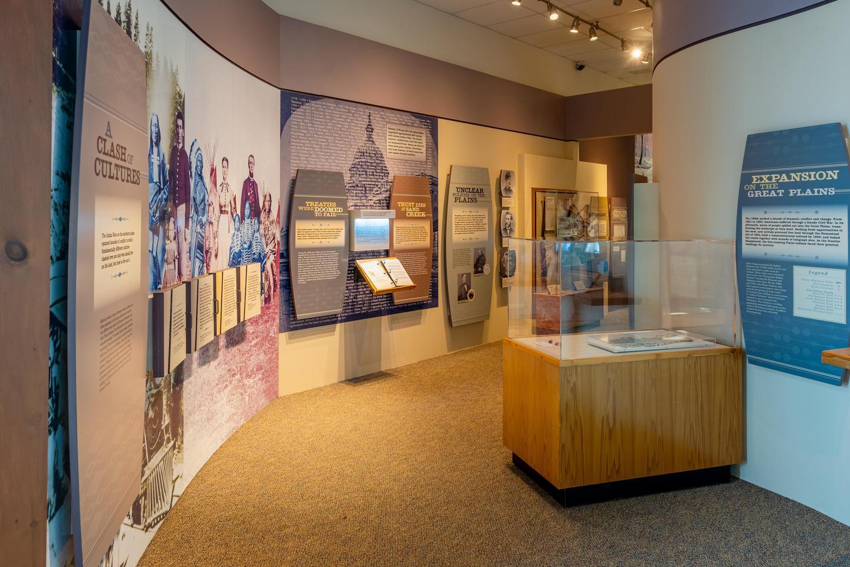 Museum EntranceWashita Battlefield Visitor Center