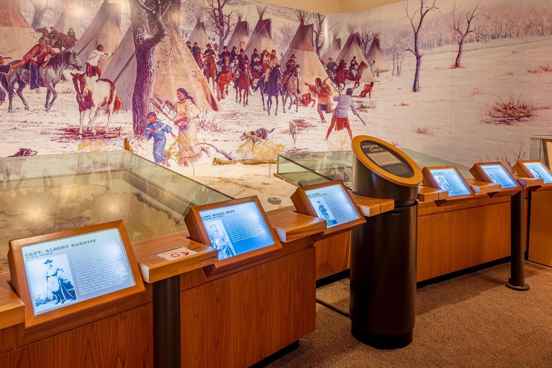 Museum Back RoomWashita Battlefield Visitor Center