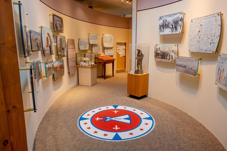 Museum EndWashita Battlefield Visitor Center