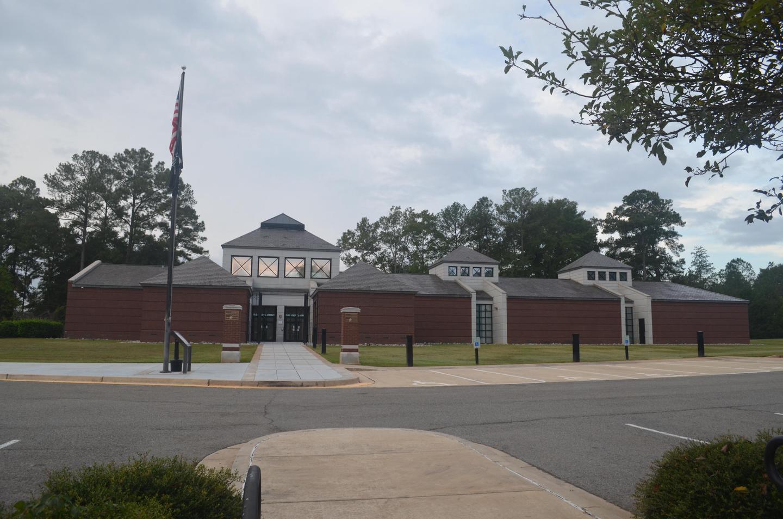 National Prisoner of War MuseumThe National Prisoner of War Museum serves as the park visitor center.