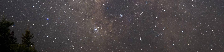Stars Over Sand BeachMilky Way over Sand Beach