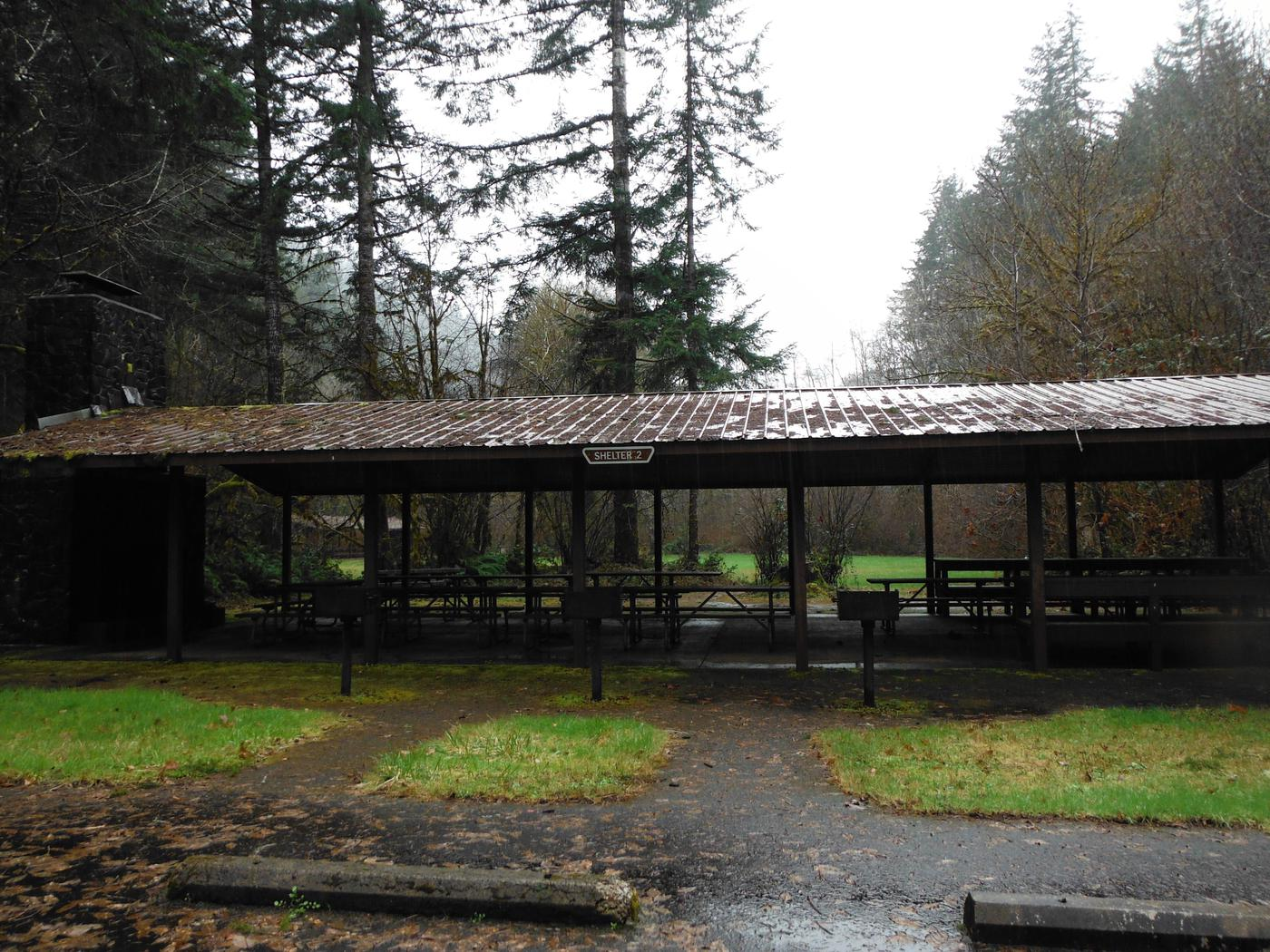 one of Clay Creek's shelters to rentshelter to reserve at Clay Creek