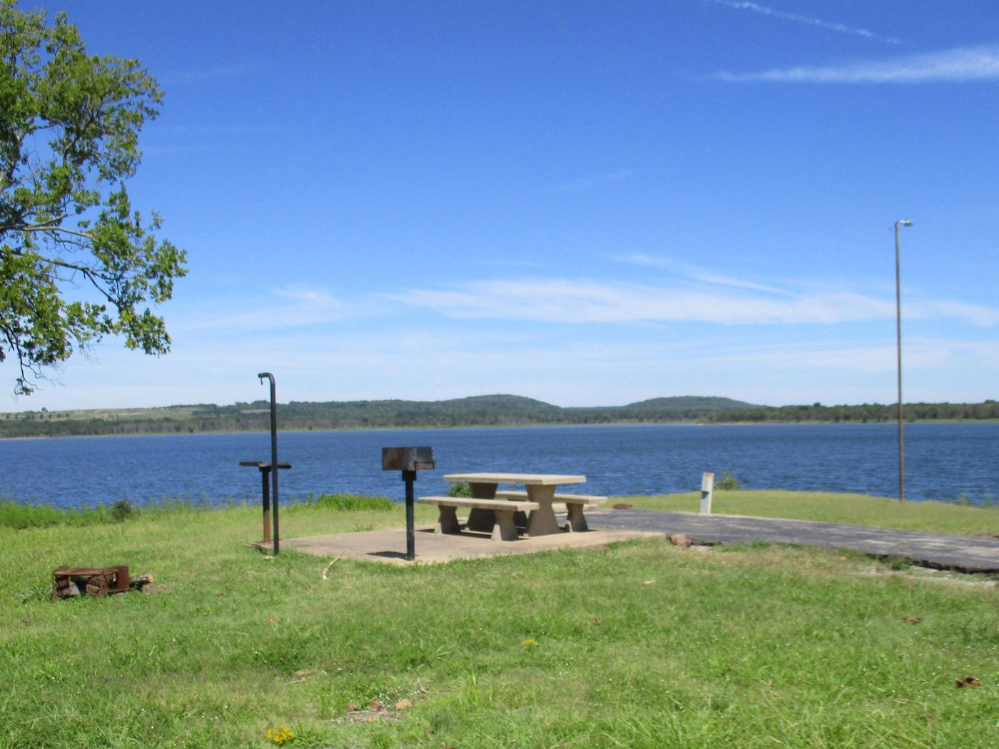 Site 13 - WildwoodSite 13 offers a great lake view with easy access to the boat ramp and courtesy dock.