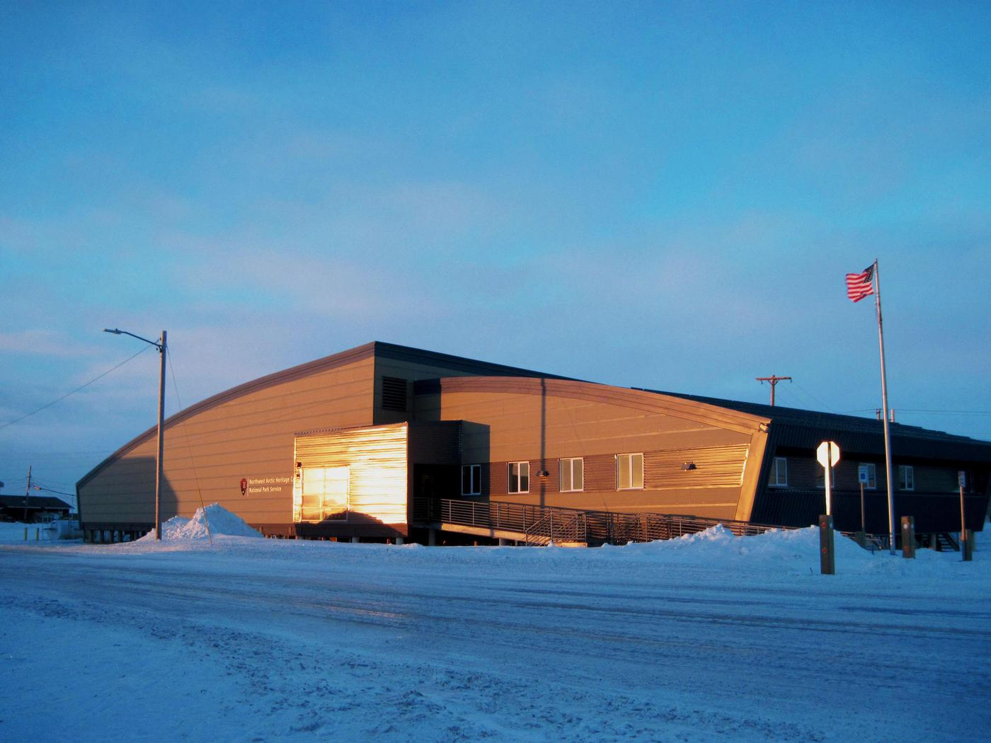 Northwest Arctic Heritage CenterNorthwest Arctic Heritage Center in January