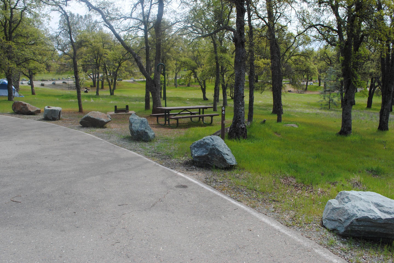 Acorn Campground Site 64 Picnic area