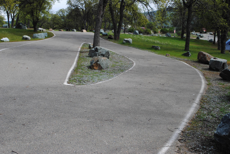 Acorn Campground Site 64 parkingParking pad
