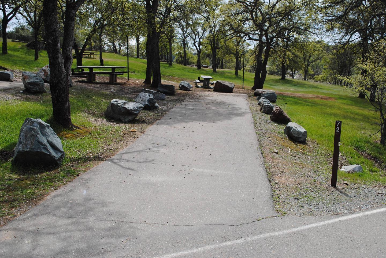 Acorn Campground Site 72 parking Parking Slip