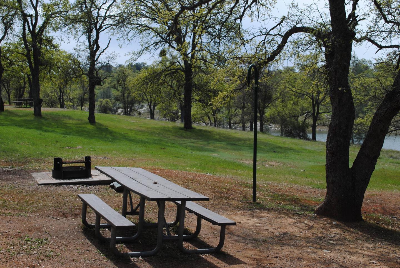 Acorn Campground Site 72Picnic area