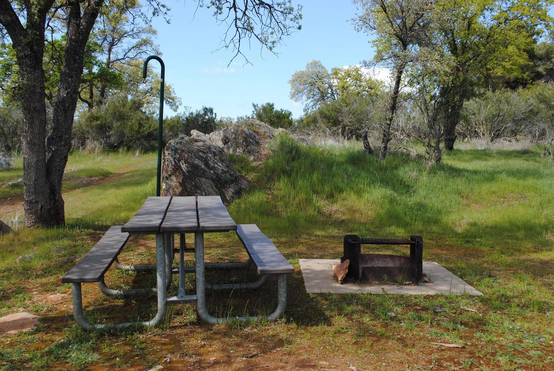Acorn Campground Site 88 picnic areaPicnic area