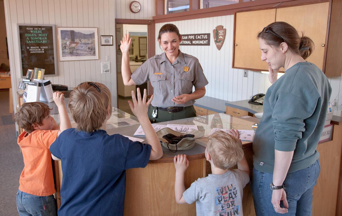 Junior Ranger ProgramAsk at the visitor center about how to become a Junior Ranger!