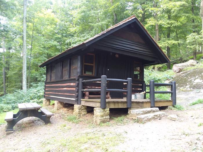 Camp Misty Mount Cabin 48
