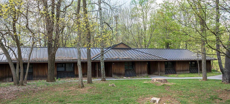 Camp Round Meadow DormCamp Round Meadow Dorm Sleeps 30 people.