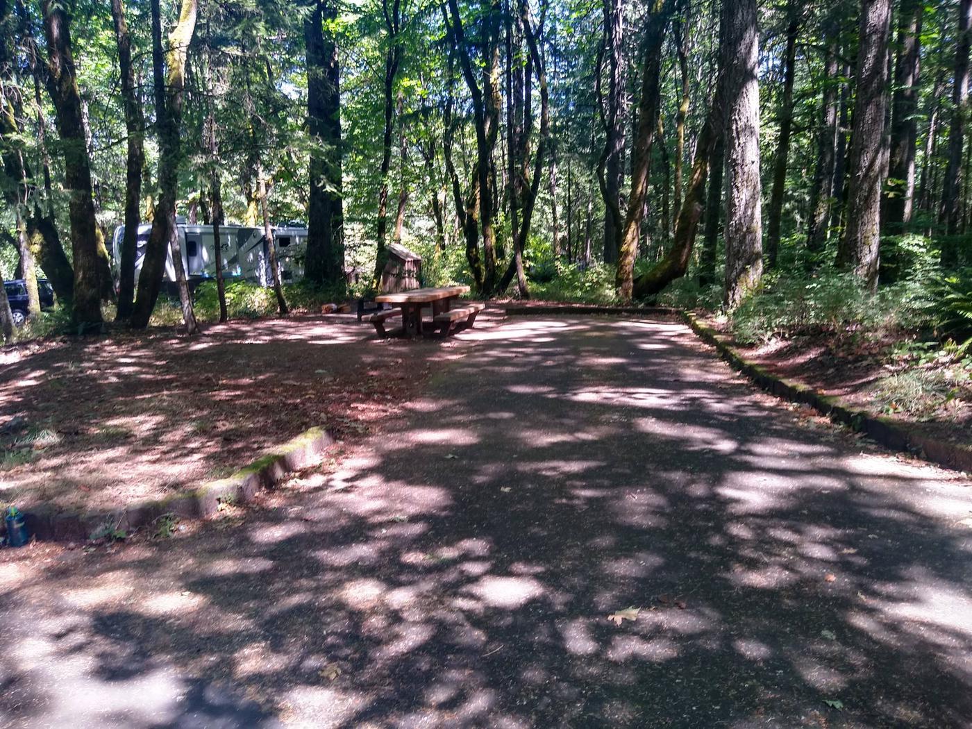 Wyeth Campground Site #3Site #3-Wyeth Campground