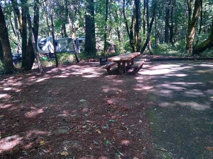 Tentpad and TableSite #3-Wyeth Campground