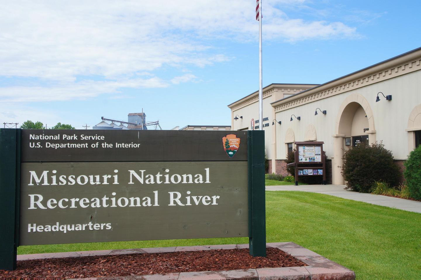 Missouri National Recreational River Headquarters and Visitor Contact Station