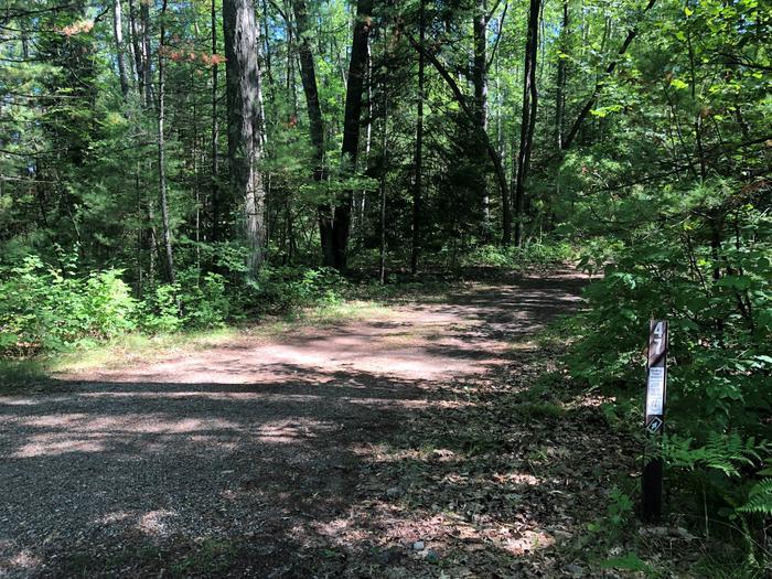 Site 47 entranceSite 47 entrance/ driveway