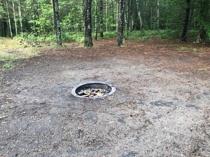 Fire pit site 100