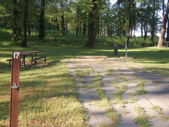 Saratoga Site 17