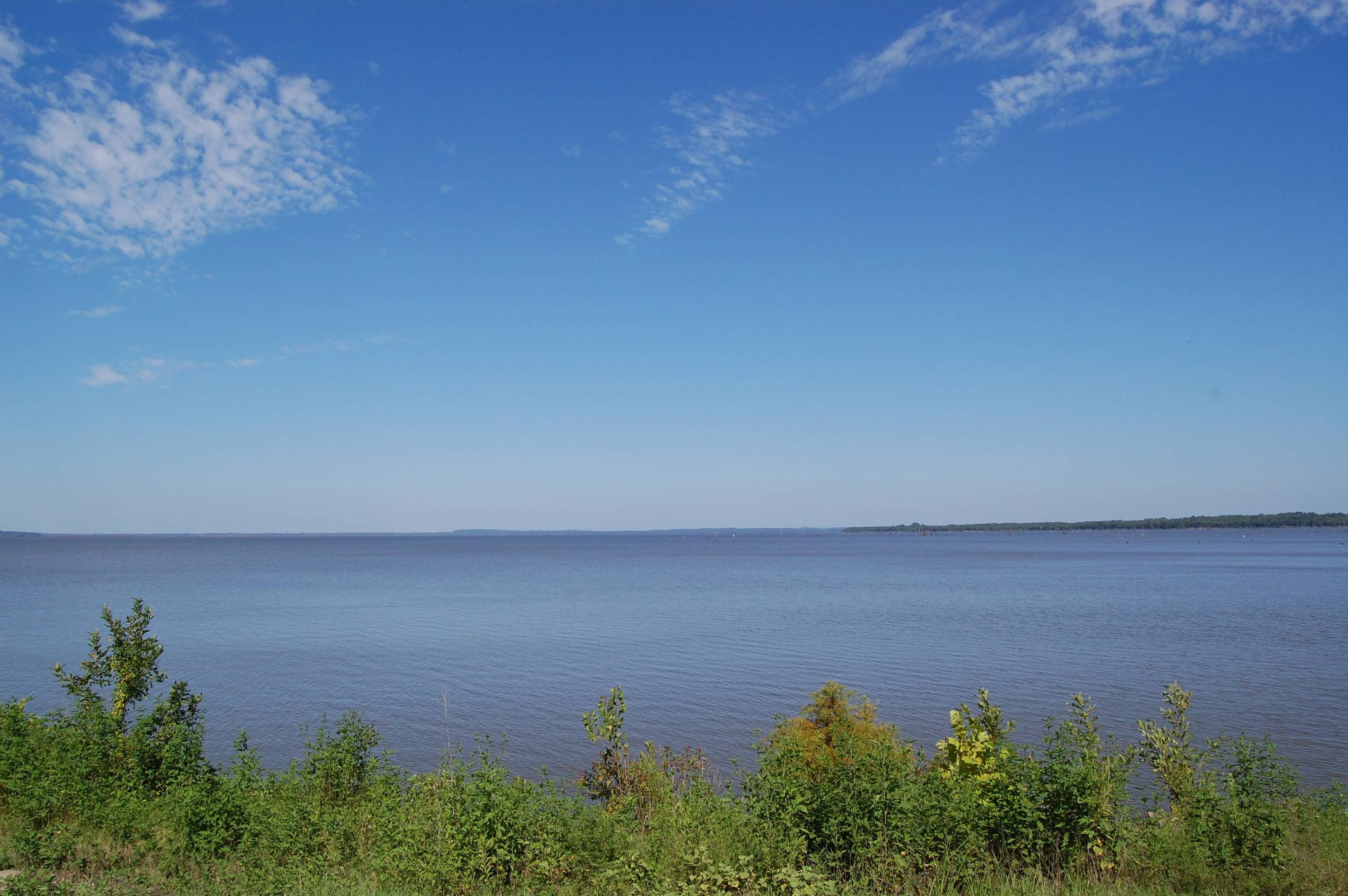 Lakefront view