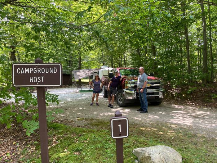 Campground HostCampground Host Site 1