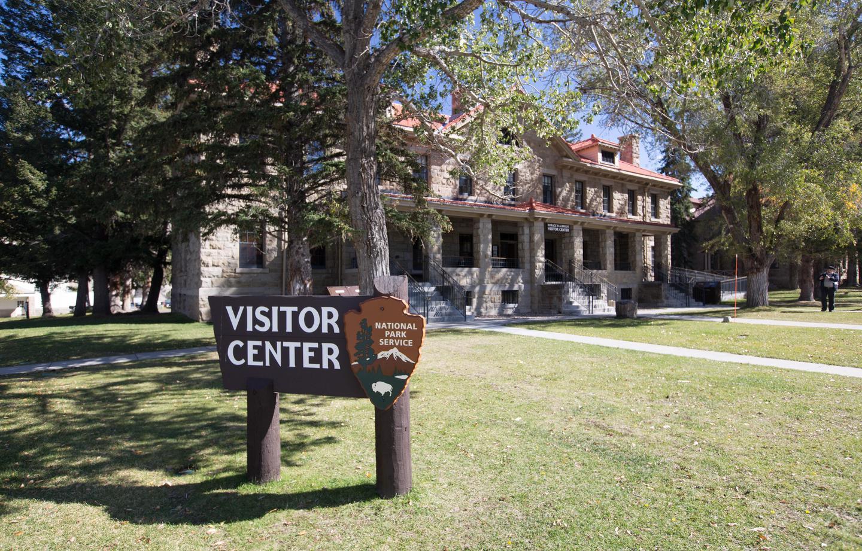 Albright Visitor CenterFront of the Albright Visitor Center