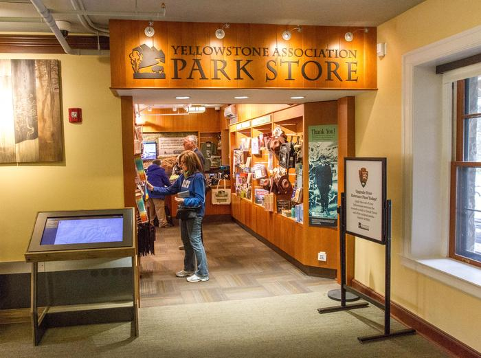 Yellowstone Forever Park StoreEntrance to the store