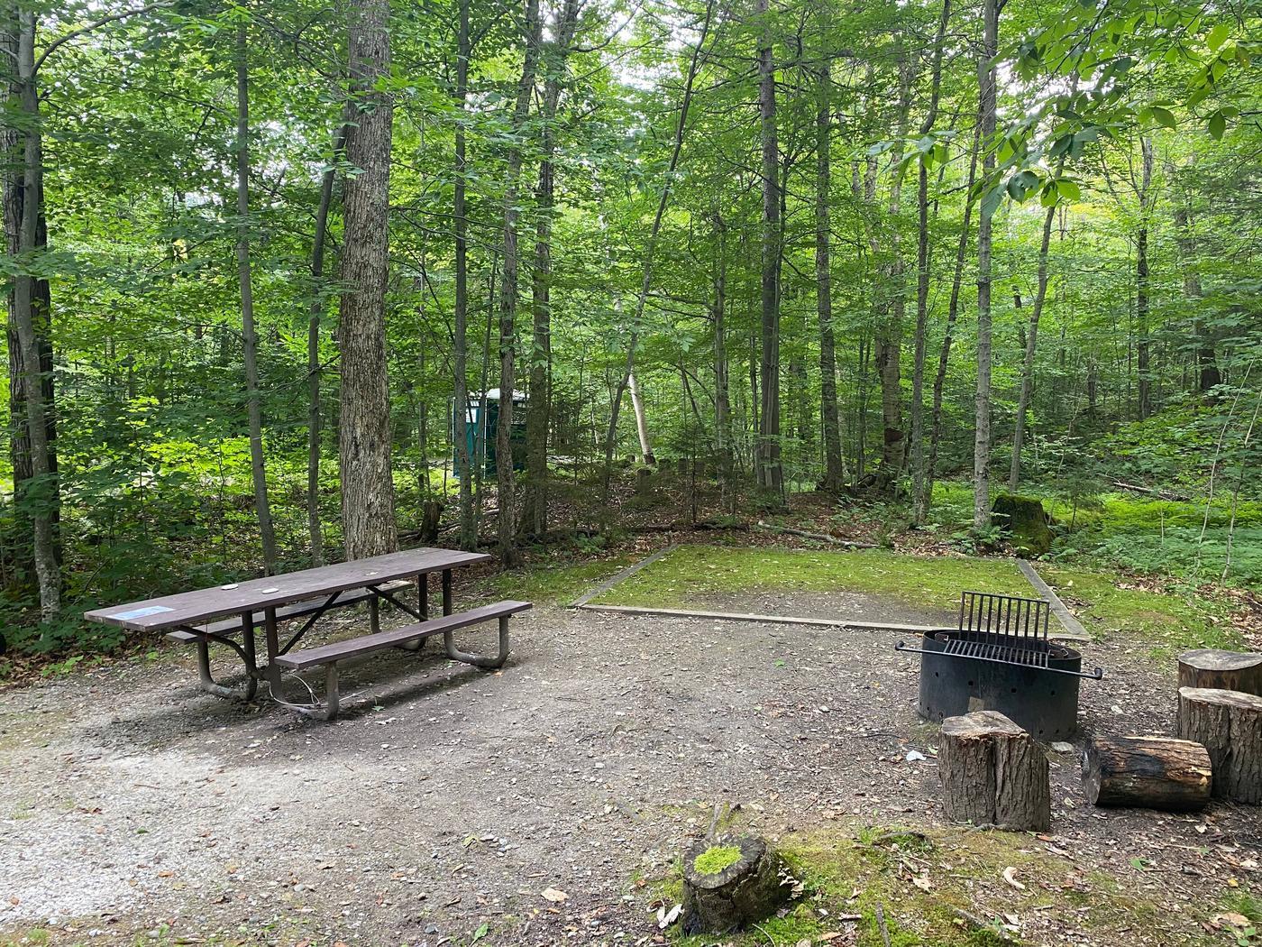 Campsite 3 tent padSite 3
