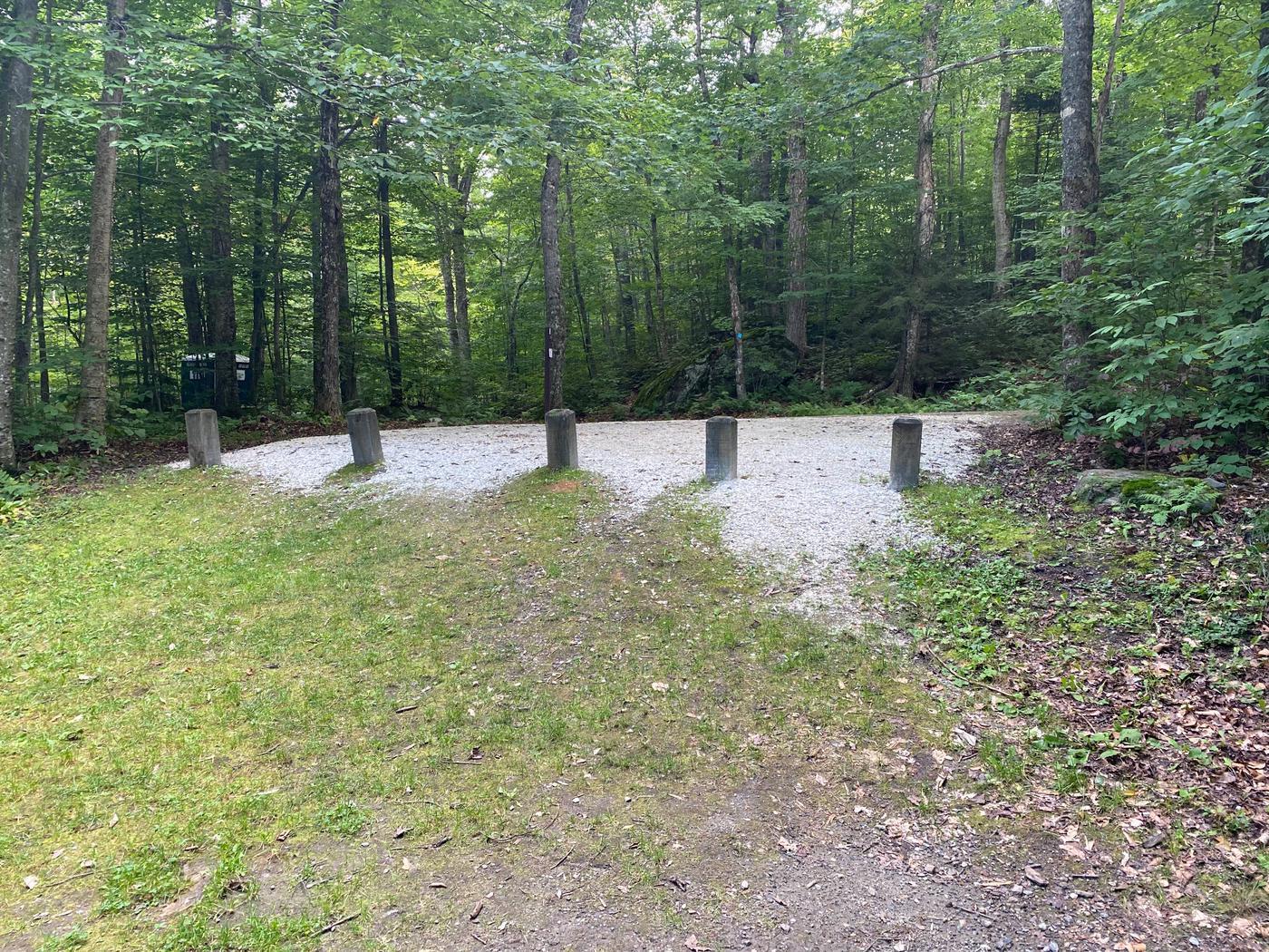 Campsite 7 parkingSite 7