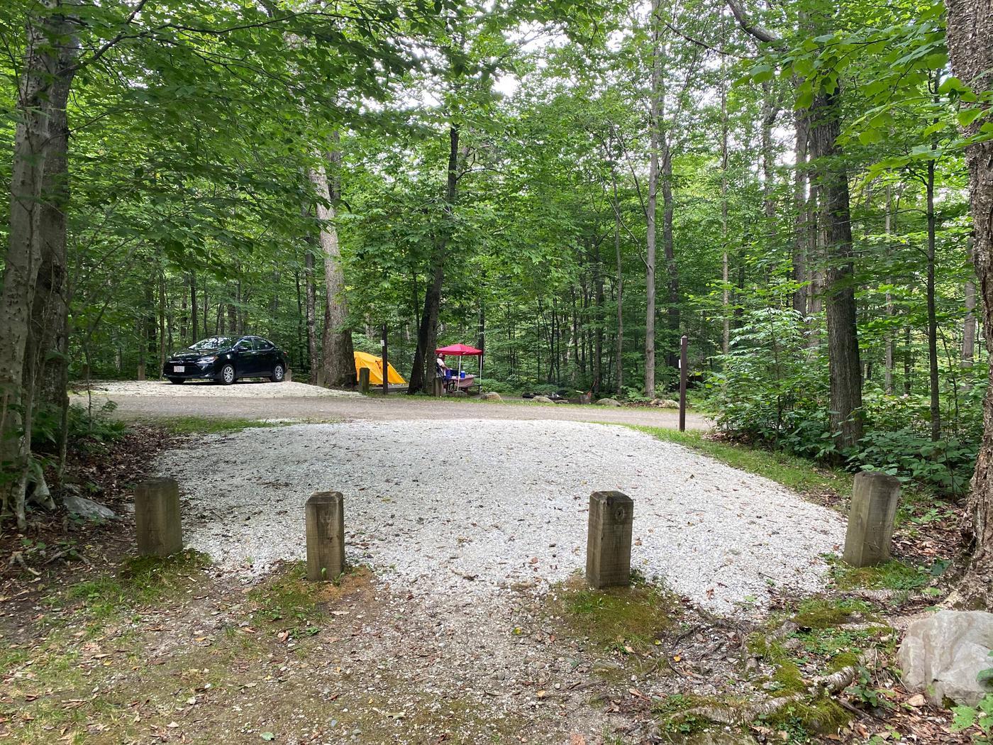 Campsite 10 parkingSite 10