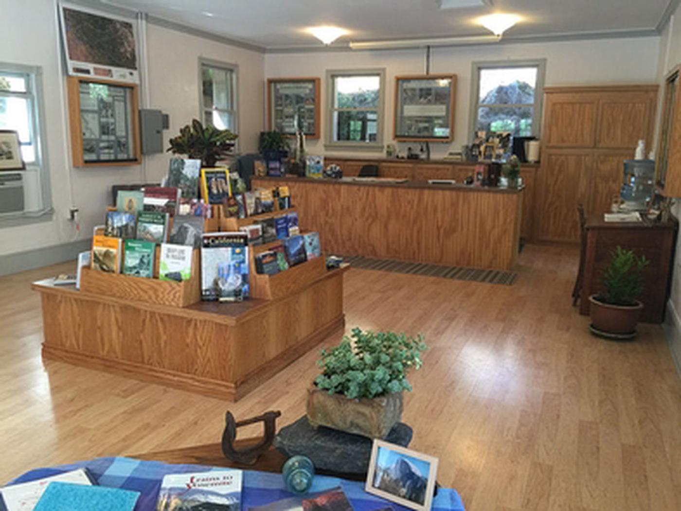 Merced River RMAInside the Briceburge Visitor Center