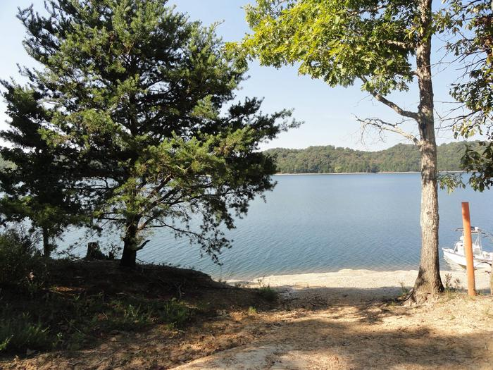DALE HOLLOW LAKE - PRIMITIVE CAMPING LAKE FRONT TENT CAMPING