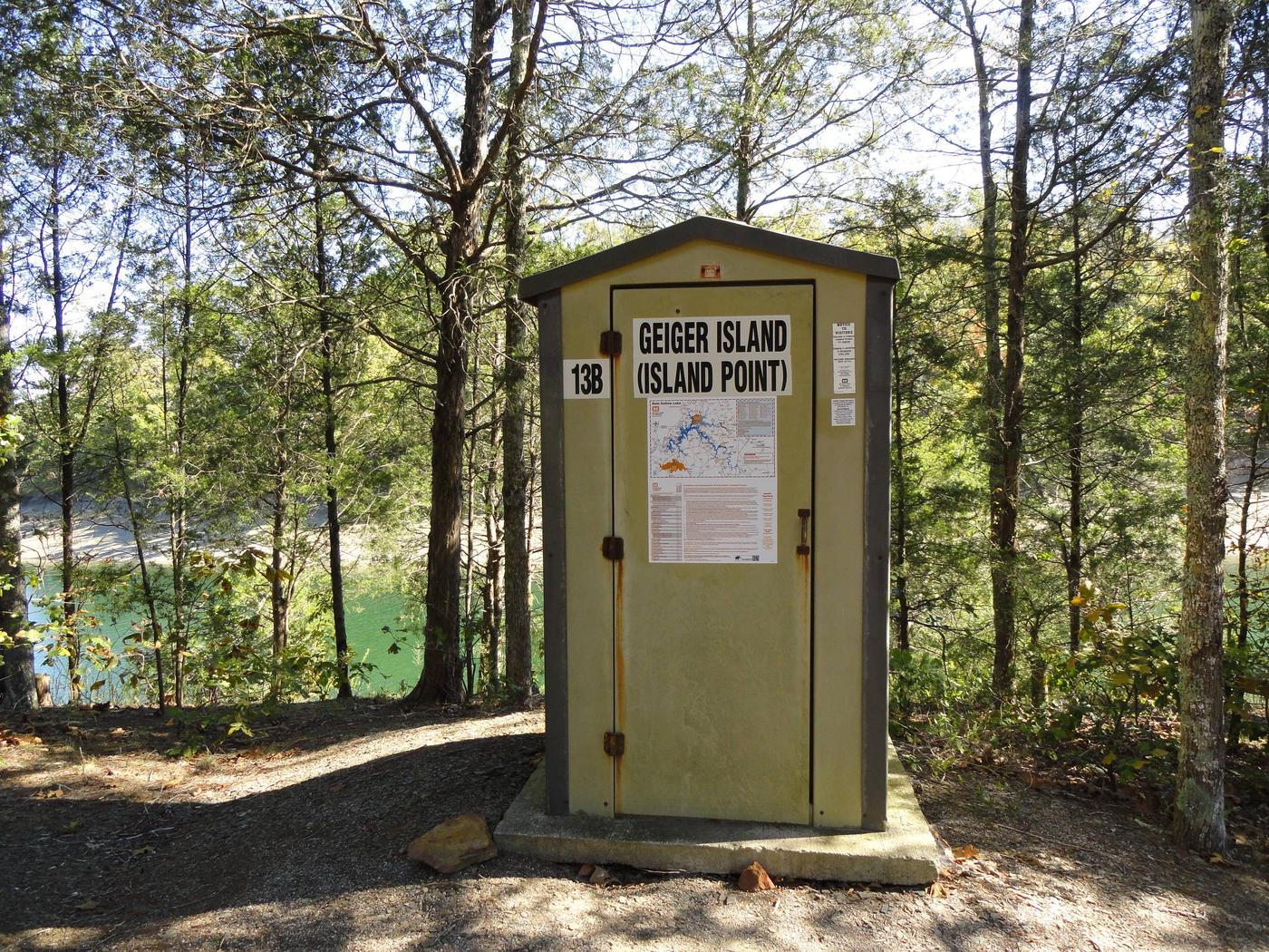 DALE HOLLOW LAKE - PRIMITIVE CAMPING GEIGER ISLAND POINT